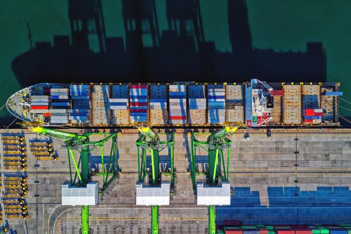 logística portuáriua no Brasil
